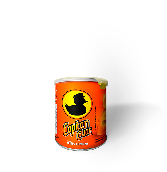 Capitan Cuac - Sabor Queso Cheddar