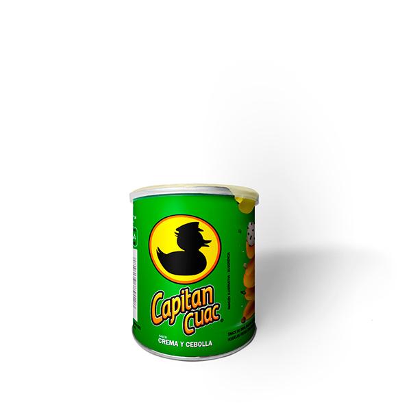Capitan Cuac - Cream and Onion Flavor